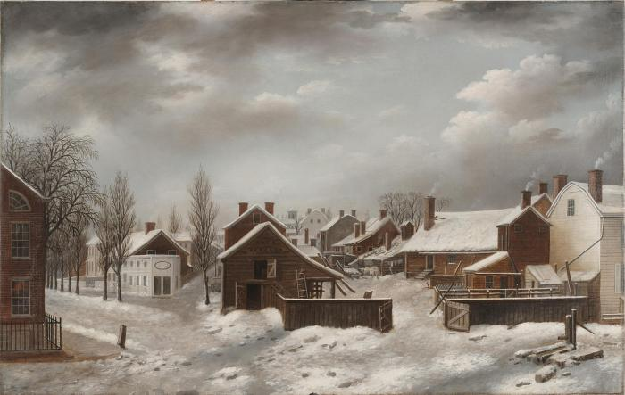 Francis_Guy_-_Winter_Scene_in_Brooklyn